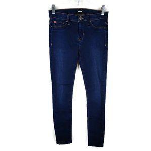 Hudson Super Skinny Nico Mid-Rise Jeans. Size: 26
